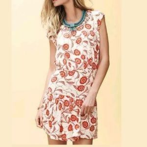 Leifnotes Scattered Stellata Floral Dress Sz M